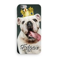 Coque Bulldog 3D Iphone 5/6/7/8/X/XR/XS personnalisée avec prénom