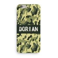 Coque Camouflage 3D Iphone 5/6/7/8/X/XR/XS personnalisée avec prénom