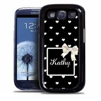 Coque samsung galaxy S4 S5 S6 S7 S8 S9 Chic personnalisée avec prénom