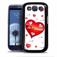 Coque samsung galaxy S4 S5 S6 S7 S8 S9 Amour Coeur Je t'aime