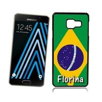 Coque Samsung galaxy A3 A5 J5 J7 Brésil personnalisée avec prénom