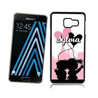 Coque Samsung galaxy A3 A5 J5 J7 Amoureux personnalisée avec prénom