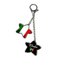 Bijou de sac Italie personnalisé avec prénom