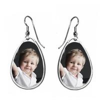 Boucles d'oreilles personnalisées avec votre photo