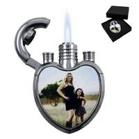 Briquet coeur personnalisé avec votre photo