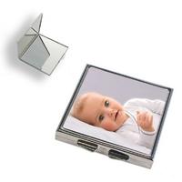 Miroir de poche personnalisé avec votre photo