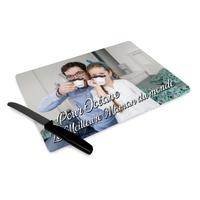 Planche à découper personnalisée avec votre photo et texte