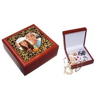 Boite à bijoux Coeur Love Amour personnalisée avec votre photo