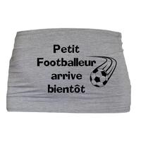 Bandeau de grossesse Petit footballeur arrive bientôt !