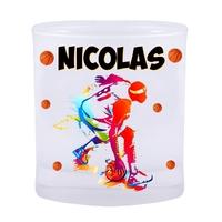 Verre Basketball personnalisé avec prénom