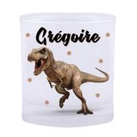 Verre Dinosaure personnalisé avec prénom