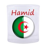 Verre Algérie personnalisé avec prénom