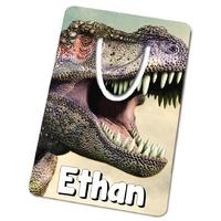 Marque-page Dinosaure personnalisé avec prénom