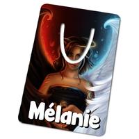 Marque-page Ange ou démon personnalisé avec prénom
