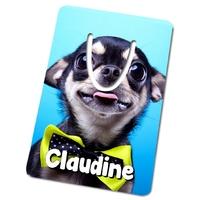 Marque-page Chiot Chihuahua personnalisé avec prénom