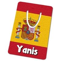 Marque-page Espagne personnalisé avec prénom