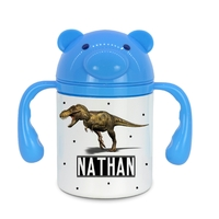 Gourde pour bébé Dinosaure personnalisée avec prénom