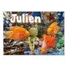 Puzzle Poisson Aquarium personnalisé avec prénom 35,70 ou 96 pièces