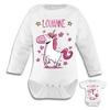 Body bébé Licorne personnalisé avec prénom au choix