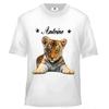 Tee shirt enfant Tigre personnalisé avec prénom