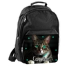 Sac à dos cartable Chat chaton personnalisé avec prénom