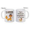 Mug (tasse) céramique Renard boho personnalisé avec prénom et message