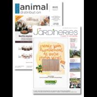 Abonnement de 2 ans <br /> à Jardineries + Animal Distribution