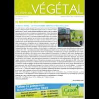 Abonnement d'un an à La Lettre du Végétal