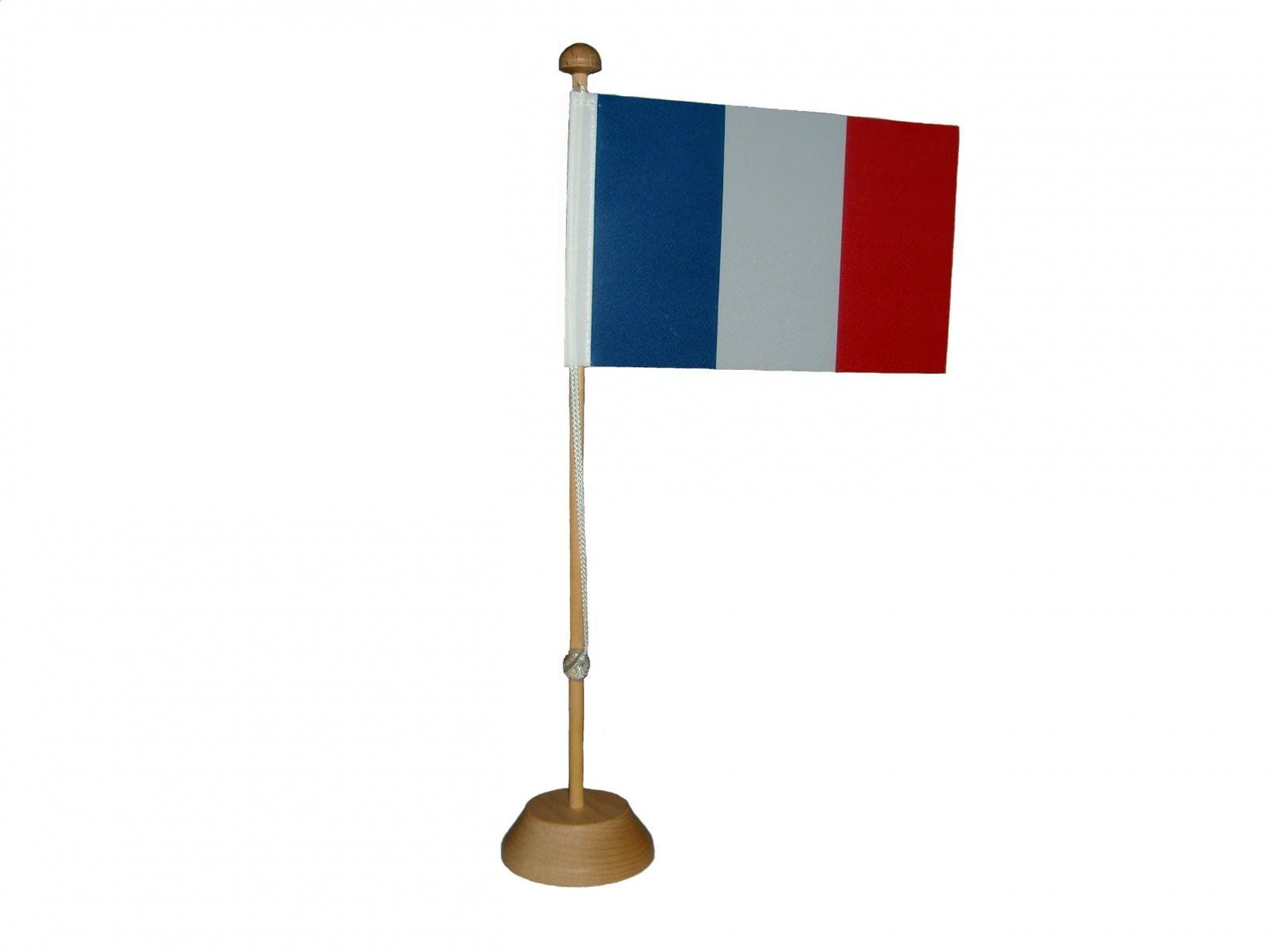drapeau france de table