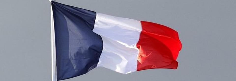 drapeau francais sur mat