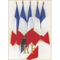 Ecussons porte-drapeaux