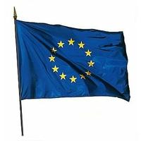 Drapeau Europe 150x225 cm sur hampe