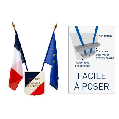 kit drapeau pour ecole