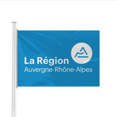Drapeau Région Auvergne-Rhône-Alpes