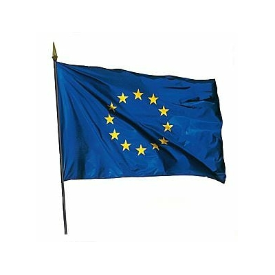drapeau-europeen-sur-hampe-