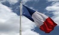 le_drapeau_francais sur mat