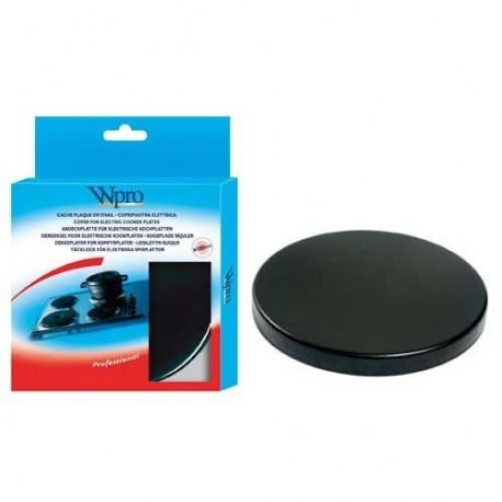 cache plaque lectrique wpro noir 200 mm cuisson. Black Bedroom Furniture Sets. Home Design Ideas