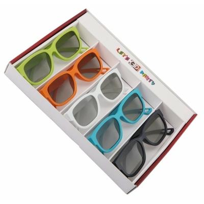 Set de 5 paires de lunettes 3D LG - Téléviseur