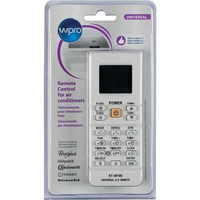 Télécommande universelle Wpro - Climatiseur