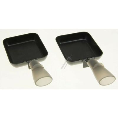 Poêlons rectangulaires Lagrange Raclette Transparence - Raclette