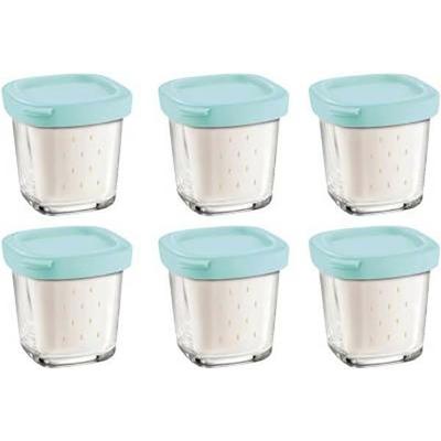 Pots en verre Seb Délices - Yaourtière & Fromagère