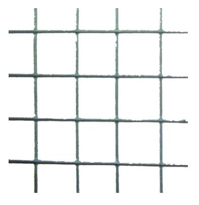 Maille carree 25 4mm plastifi vert jardin grillage for Decoration grillage exterieur