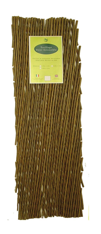 treillis osier extensible jardin treillis plastique treillis osier boutique d coration et. Black Bedroom Furniture Sets. Home Design Ideas