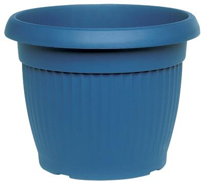 pot de fleur coloris bleu poterie pots de fleurs bacs. Black Bedroom Furniture Sets. Home Design Ideas
