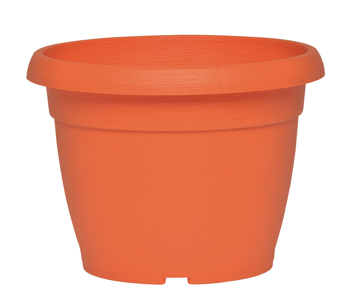 pot de fleurs orange poterie pots de fleurs bacs. Black Bedroom Furniture Sets. Home Design Ideas