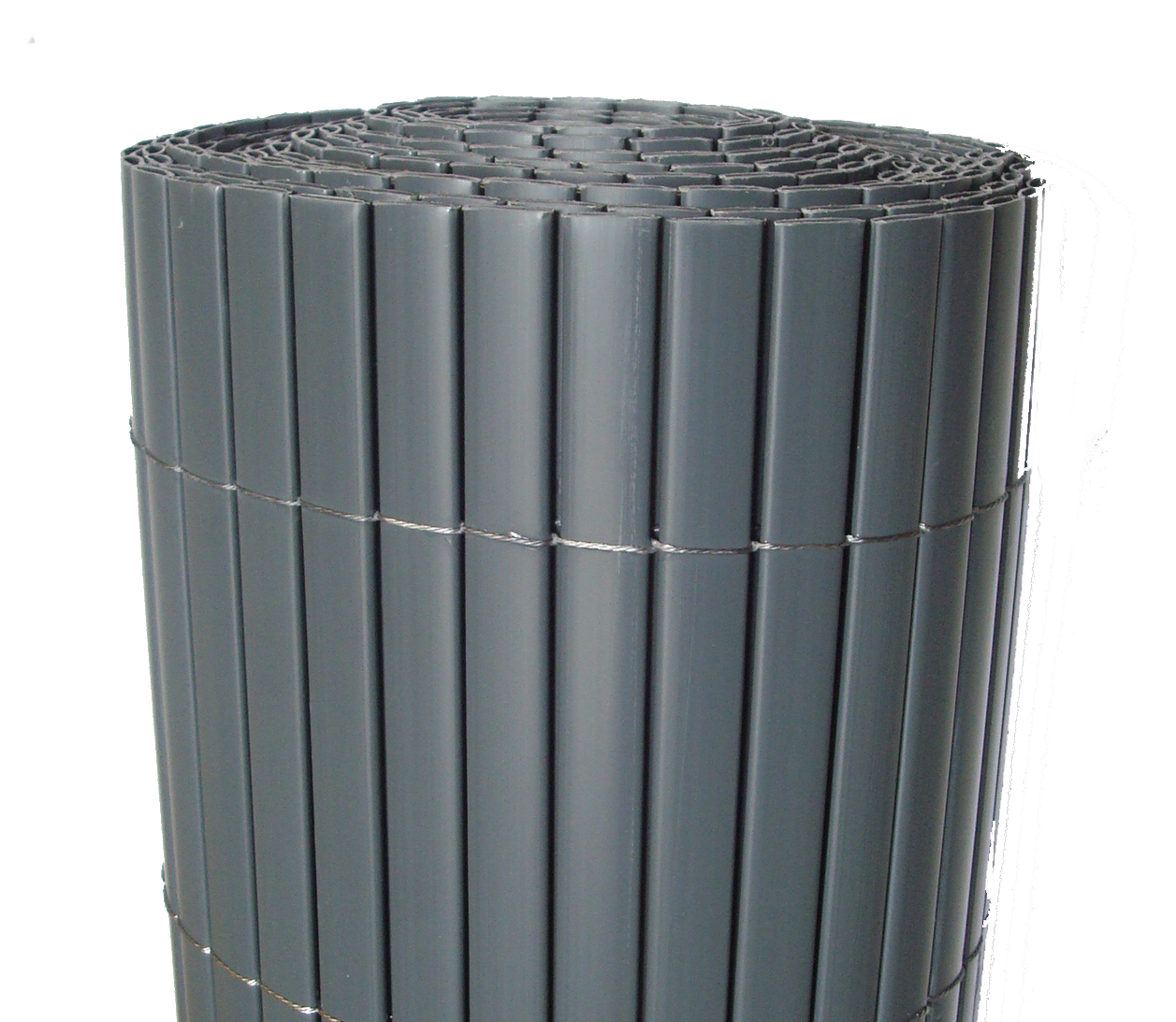 Canisse Pvc   Double Face   Anthracite