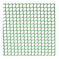 Maille carrée plastique vert 5mm