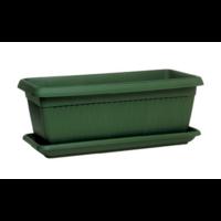 Jardinière + soucoupe - Vert