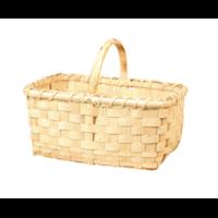 Panier rectangulaire bambou