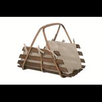 Panier à bûches en bois